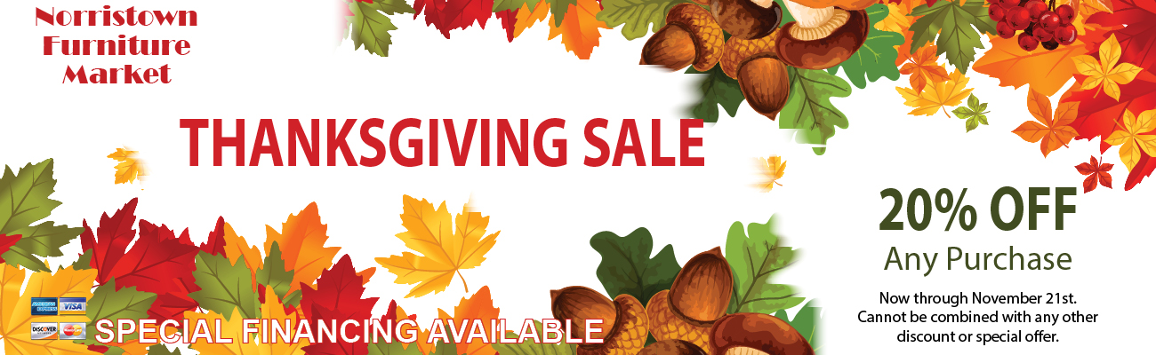 thanksgiving furniture sales