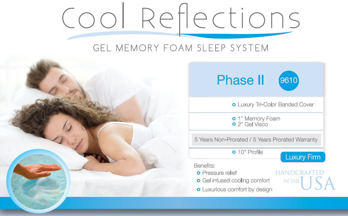 cool reflections mattresses | Norristown Furniture Market
